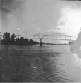 Bridge over the Willamette River,Center Street, Salem, Oregon, 1886