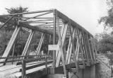 Harlan Covered Bridge over Big Elk Creek in Lincoln County, Oregon, 1963