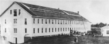 First woolen mill on the Pacific Coast built by Willamette Woolen Manufacturing Company in Salem,...