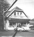 Grocery store at Valsetz, Polk County, Oregon, 1958