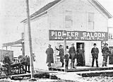 Pioneer Saloon in Shaniko, Wasco County, Oregon, 1902