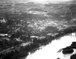 Aerial view of downtown Salem, Oregon, 1947
