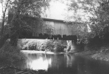 Drift Creek Covered Bridge in Lincoln County, Oregon, 1957