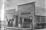 SilverTooth Saloon and the Gold Tooth Restaurant in Shaniko, Oregon, 1902