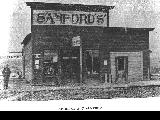 A.C. Sanford's in Shaniko, Wasco County, Oregon, 1902
