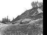 Landslides on the Otis-Neskowin Road in Lincoln County, Oregon, 1963