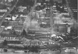 Downtown Salem, Oregon, looking east from Willamette River waterfront, 1947