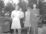 Carl DeArmond family, Monmouth, Oregon, June 7, 1942