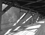 Knight Covered Bridge over the Molalla River west of Canby in Clackamas County, 1946