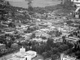 Aerial view looking southwest from over the Oregon State Capitol, Salem, Oregon, 1947