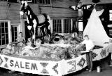 Float for the Portland Rose Festival parade, Salem, Oregon, 1960