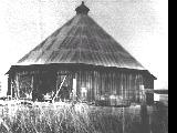 Octagonal barn in Lookingglass, Oregon