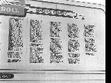Honor roll of servicemen from Marion County who served in World War II in Salem, Oregon