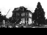 Demolition of old Marion County Courthouse in 1952, Salem, Oregon