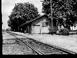 Southern Pacific Chemawa, Oregon Station as it appeared in the 1920's