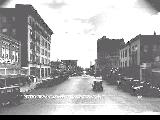 Salem, Oregon in 1930, on State St. looking east from Front St.