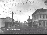 Jacksonville, Oregon in 1910 looking east on California Street