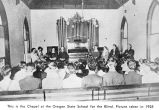 Chapel at the Oregon State School for the Blind, Salem, Oregon, 1925