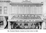 Wexford Theatre in the D'Arcy Building on Court Street, Salem, Oregon, 1915