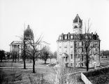 Old Oregon State Capitol and Waller Hall at Willamettte University, Salem, Oregon , 1907