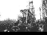Ceremonies heralding the arrival of the Salem, Falls City and Western Railway into Salem, Oregon...